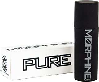 Pure by Morphine Lips - Lemon Mint Chapstick - Moisturizing Lip Balm, Natural Hydration, Organic Chap Stick, Repair Extra Dry and Cracked Lips, Essential Oil Balm for Men, Women, 0.14 oz