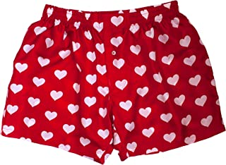 Red Silk Heart Boxers 2.0 Love You Valentine Special - Men's