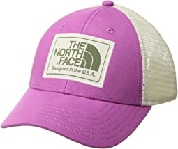 9238fb0de83 Wisteria Purple Vintage White. The North Face Kids. Youth Mudder Trucker Hat.   24.95