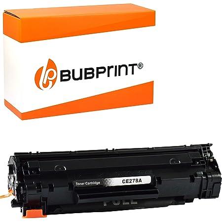 Bubprint Toner Kompatibel Für Hp Ce278a 78a Für Laserjet Pro M1536dnf M1537dnf M1538dnf M1539dnf Mfp P1566 P1600 P1606dn P1607dn P1608dn P1609dn Schwarz Bürobedarf Schreibwaren