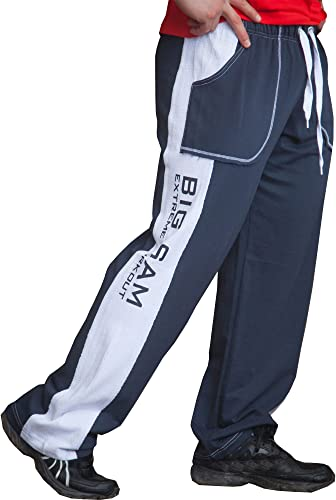 BIG SM EXTREME SPORTSWEAR Pantalon Corps de survêteHommest Pantalon Musculation 1014
