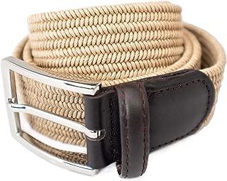 nike leather woven g flex belt