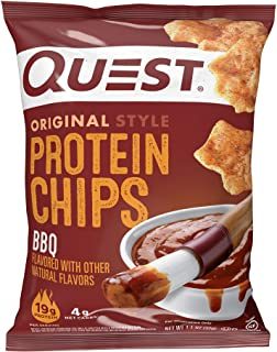 Sponsored Ad - Quest Nutrition Protein Chips, BBQ, Pack of 12