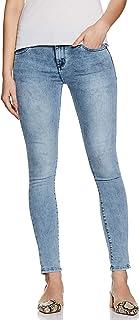 Spykar Women's Casual Slim Jeans (ALI-01BJ-029_LT.Blue_30)