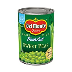 Del Monte Canned Sweet Peas, 15-Ounce