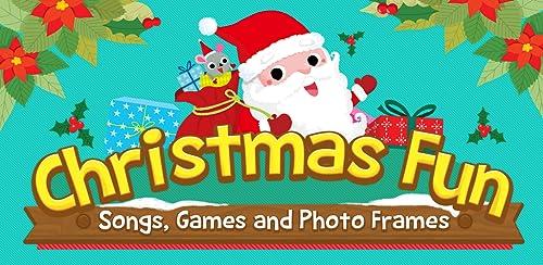 『Pinkfong Christmas Fun: 赤ちゃん・幼児・子供向けのクリスマス歌、ゲーム、カメラ、知育』のトップ画像