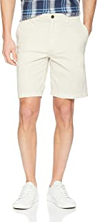 "Amazon Brand - Goodthreads Men's 9"" Inseam Flat-Front Comfort Stretch Chino Short"