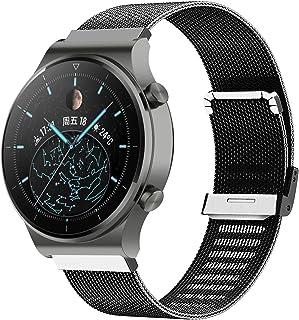 Kobmand Bracelet pour Huawei Watch GT 2 Pro,Bracelet en Métal de Remplacement pour Montre Huawei GT 2 Pro/ /GT 2 46MM/Watc...