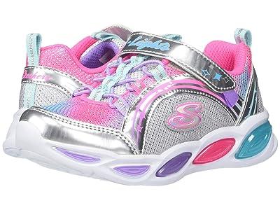 SKECHERS KIDS Shimmer Beams 20269L (Little Kid/Big Kid) (Silver/Multi) Girls Shoes