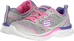 SKECHERS KIDS - Dream N' Dash Pep It Up 81464L (Little Kid/Big Kid)