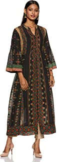Women's Viscose Cotton & Georgette A-Line Kurta