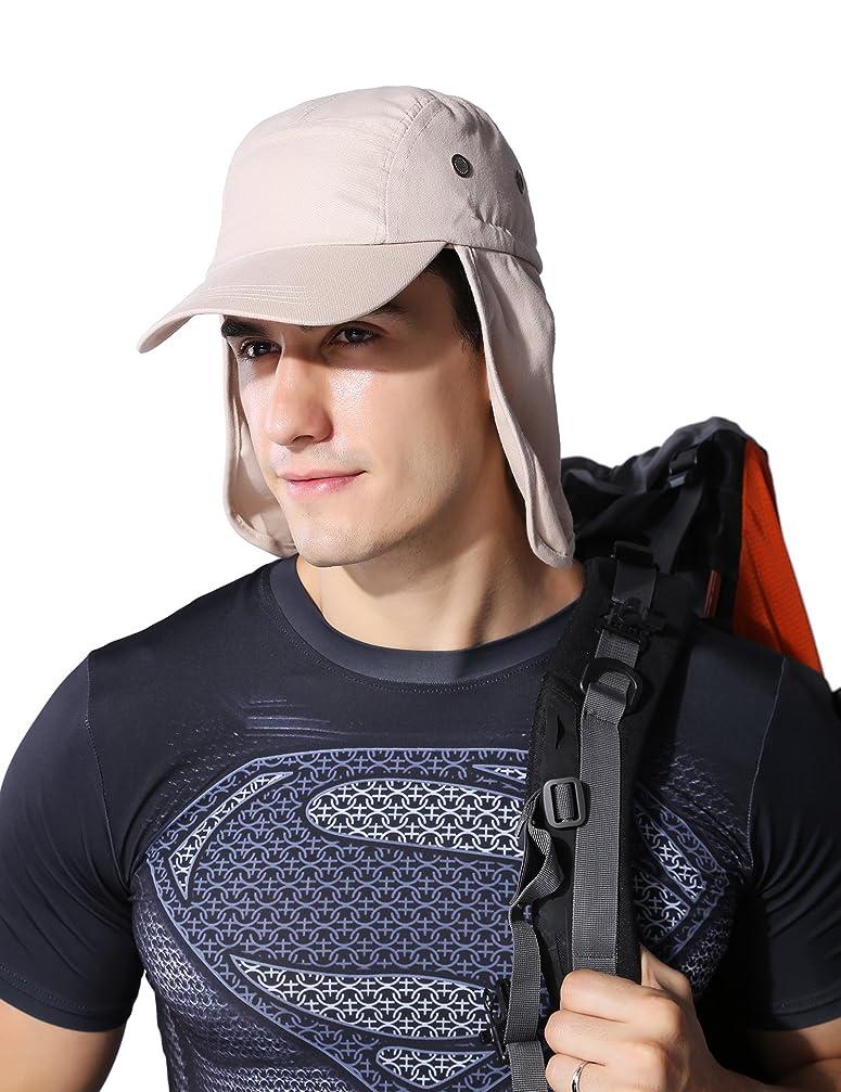 賢明な複数印をつけるユニセックスアクティビティUV保護屋外防水Boonie帽子Wide Brim Sun Hat通気性ハイキングバックパッキング、釣り、狩猟、サイクリング、キャンプ、アウトドア、スポーツ02