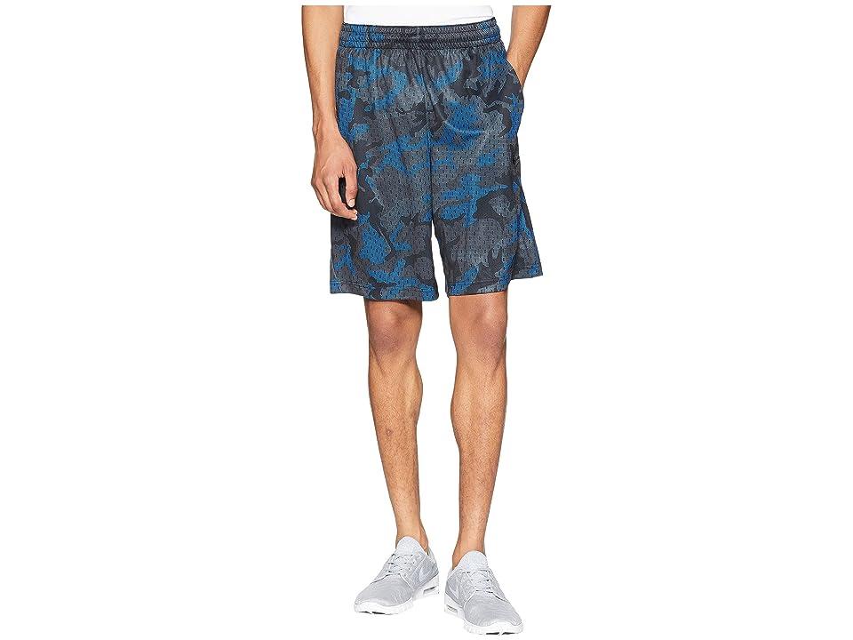 Nike Dry Nothing But Shorts (Cool Grey/Signal Blue/Black) Men