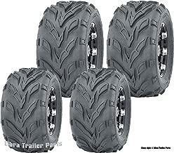 Set 4 WANDA Go Cart tires 145/70-6 145X70X6 & 16X6-8 16X6X8 4PR