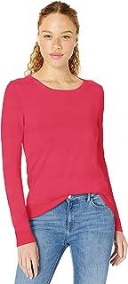 Amazon Essentials Women's Lightweight Long-Sleeve Crewneck Sweater