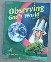 Observing god's World 3rd edition