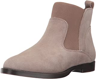 Bella Vita Women's Rayna Ankle Bootie, Almond Suede, 5