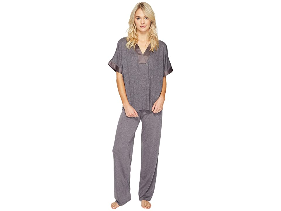N by Natori Congo PJ Set (Heather Grey) Women
