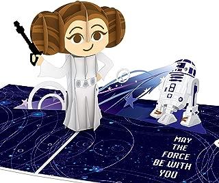 Lovepop Star Wars Princess Leia Pop Up Card, Birthday Cards, Star Wars Card, Princess Birthday Card, 3D Card, Greeting Card, Birthday Pop Up