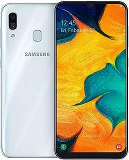 Samsung Galaxy A30 Dual SIM - 64GB, 4GB RAM, 4G LTE, White, UAE Version