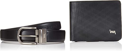 LAWMAN Black/Brown Men's Wallet (LW-O-WBCOMBO-01)