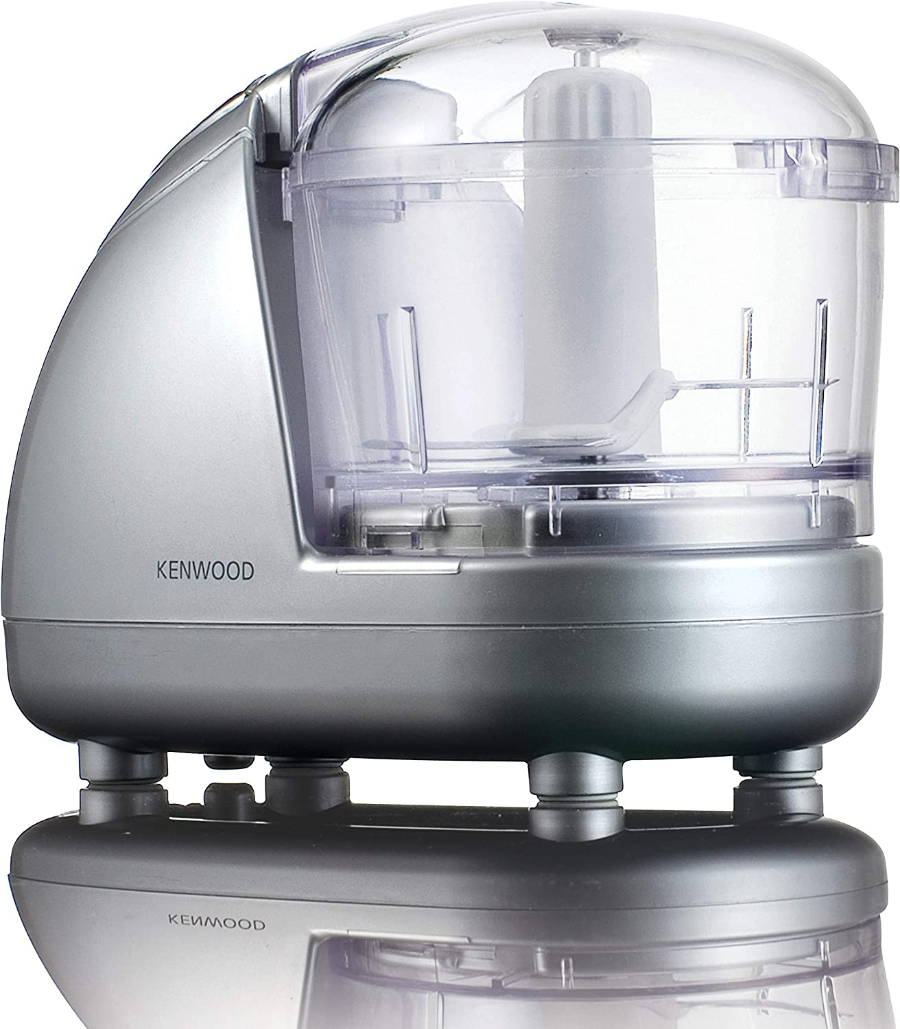 Kenwood Ch185 Mini Chopper 0 35l Dishwasher Safe Bowl 2 Speeds Rubber Feet For Stability 300w Silver Amazon Co Uk Kitchen Home