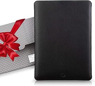 UNIKA Italian Leather Laptop Sleeve - Fits Any MacBook Device 2010-2020 - Ultra-Sleek Wool Padded Leather Case - MacBook P...