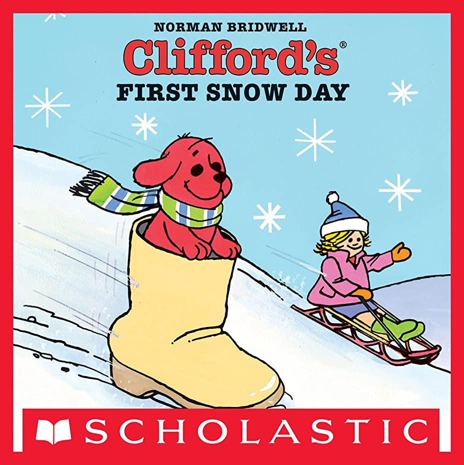 人形取り付けアラームClifford's First Snow Day (English Edition)