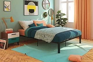 Signature Sleep Ultra Comfort Platform Euro Wood Slats: Queen Black Bed with Storage