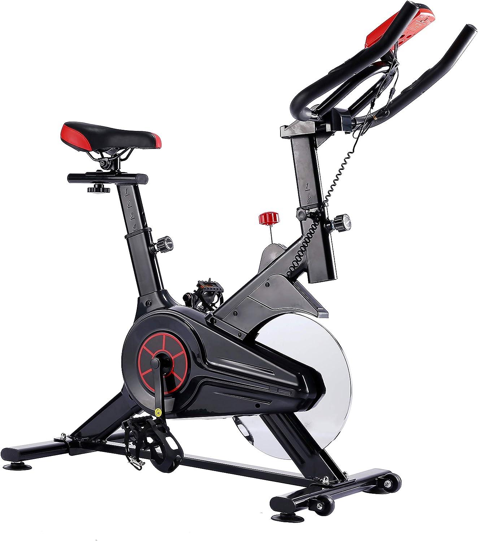 Heimtrainer Heimtraining Indoor Spin Bike beinhaltet Spinning Trainingsprogramm