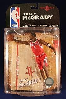 TRACY MCGRADY / HOUSTON ROCKETS * RED JERSEY VARIANT * McFarlane 6 Inch NBA Series 16 Sports Picks Action Figure