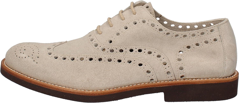 DI MELLA Oxfords-shoes Mens Suede Beige