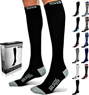SB SOX Lite Compression Socks (15-20mmHg) for Men & Women