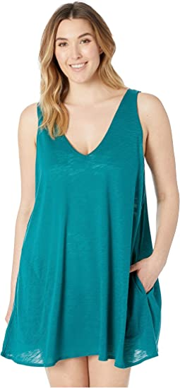 Plus Size Tank Dress Cover-Up