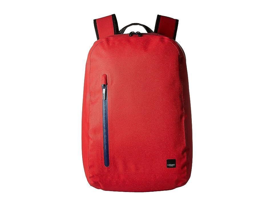 KNOMO London Thames Harpsden Backpack (Formula One Red) Backpack Bags