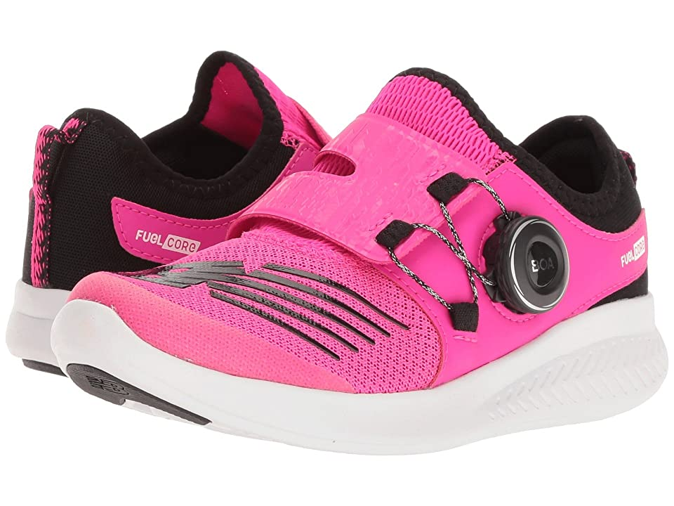 New Balance Kids FuelCore Reveal (Little Kid) (Pink Glo/Black) Girls Shoes