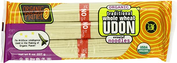 Organic Planet Organic Traditional Whole Wheat Udon Noodles, .5-Pounds (Pack of 12)