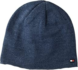 Fine Gauge Marled Fleece Lined Hat