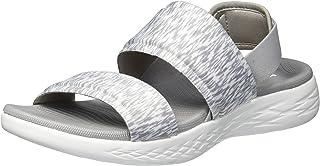 Skechers ON-THE-GO 600 - FOXY, Women's Ankle-Strap, Grey (Grey Gry), 6 UK (39 EU)