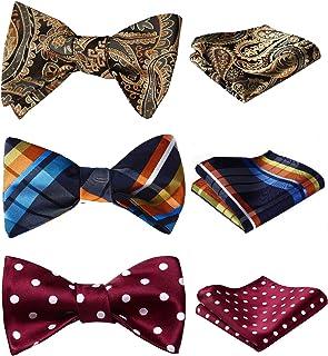Various Designs Levao Boys Bow Tie Stylish Adjustable Bow Ties