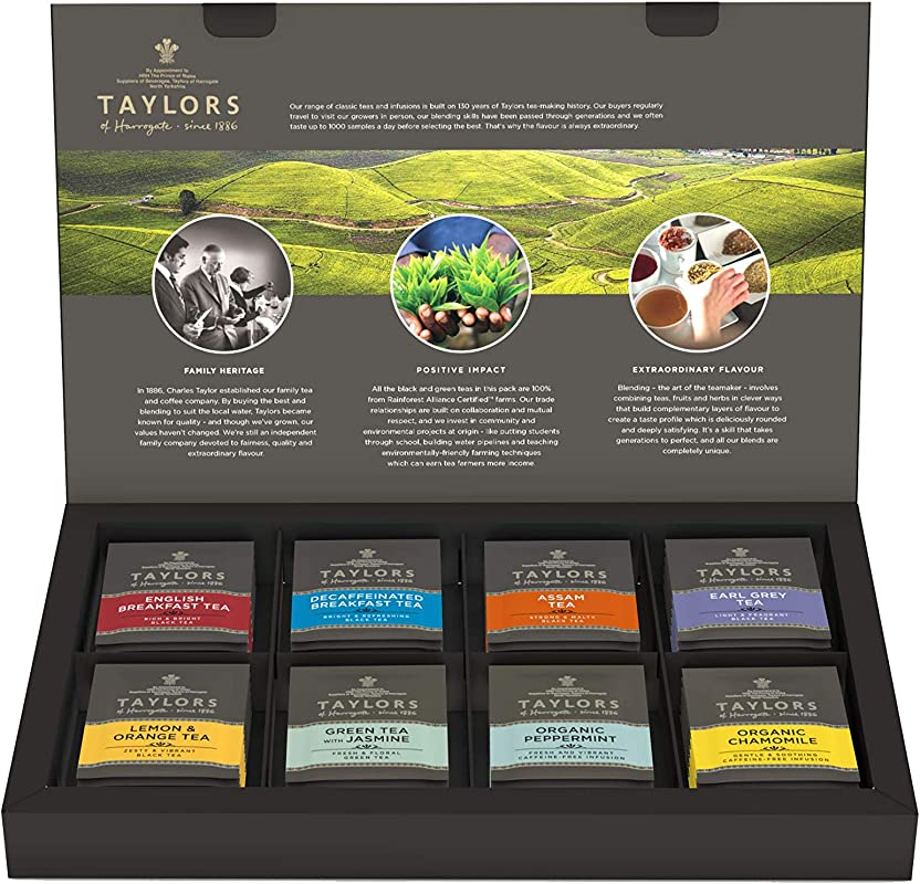 Taylors Of Harrogate Classic Tea Variety Box 48 Count