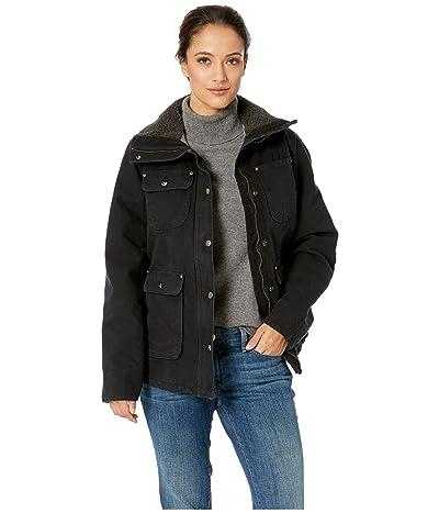 Carhartt Weathered Duck Wesley Coat (Black) Women