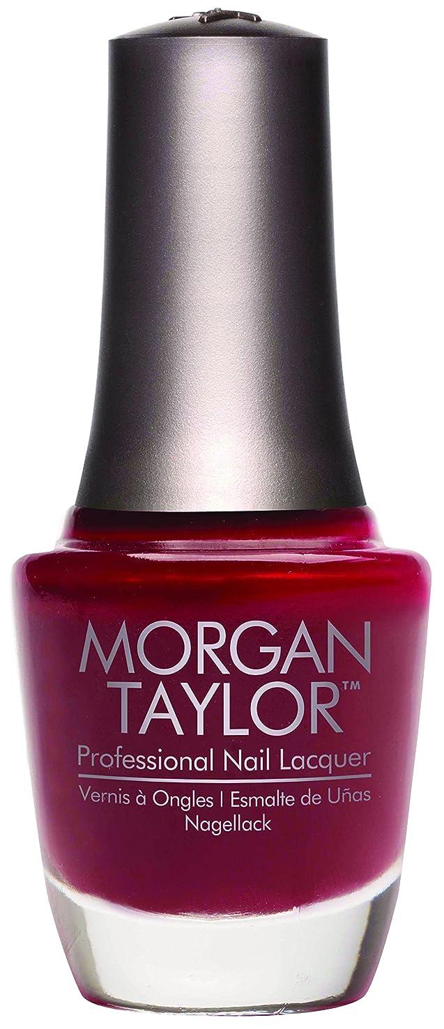 シャー乏しい仕方Morgan Taylor - Professional Nail Lacquer - A Touch of Sass - 15 mL / 0.5oz