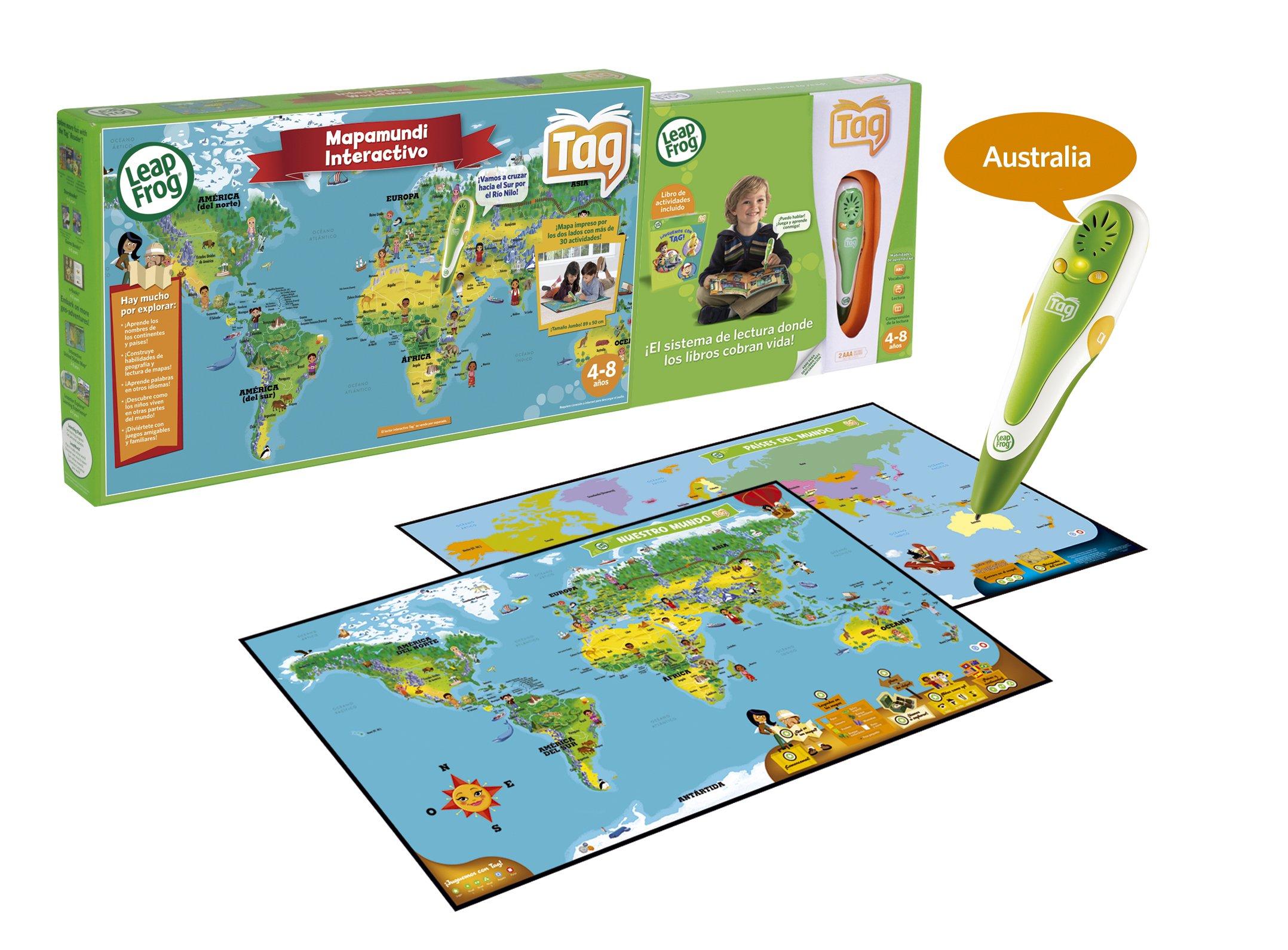 Leap Frog Cefa 00626 - Tag + Mapa Interactivo: Amazon.es: Juguetes y juegos