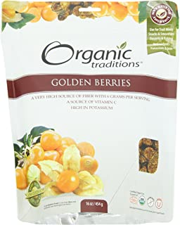 Organic Traditions Inca Berries, Golden, 16 Ounce