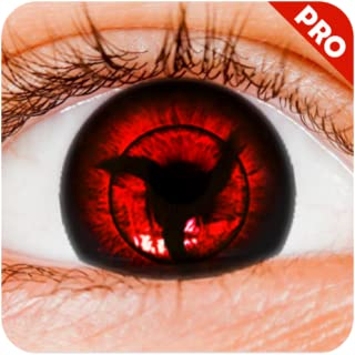 Real Sharingan Uchiha Eye Camera