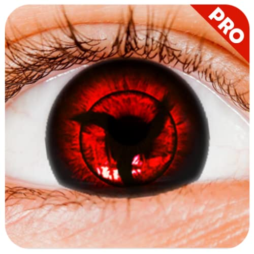Real Sharingan Uchiha Eye Camera