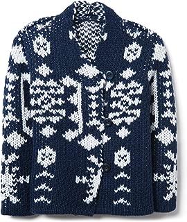 Crazy 8 Girls' Long Sleeve Sweater Cardigan