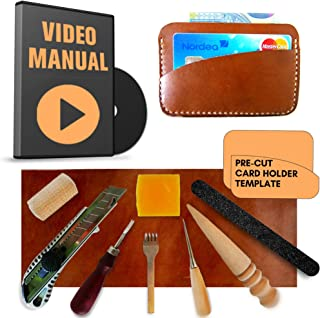 diy leather wallet kit