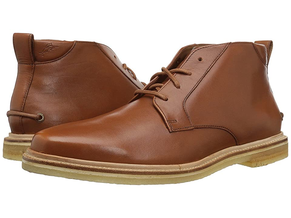 Tommy Bahama Lancaster (Tan Crust Leather) Men